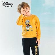 Disney 迪士尼 儿童圆领卫衣套装