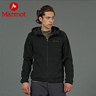 27日0点前:Marmot 土拨鼠 83840 抓绒开衫连帽卫衣