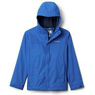 轻质防水带反光,多码好价:Columbia哥伦比亚 Watertight™ 男童 中大童Omni-Tech防水冲锋衣