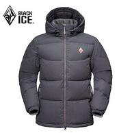 90%白鹅绒、700蓬:BLACK ICE 黑冰 F8509 天枢 PLUS  男女款鹅绒服