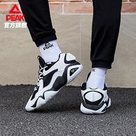 超软态极中底:匹克 态极 秋冬款 6371休闲篮球文化鞋 老爹鞋