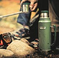 史低!不锈钢保温杯始祖:1L 美国 Stanley史丹利 经典款真空保温瓶Classic Vacuum Bottle