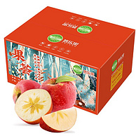 京觅 悠乐果 阿克苏冰糖心苹果(单果80—85mm)5kgx4件 +凑单品