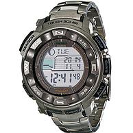 CASIO 卡西欧 PRW2500T-7CR 登山系列 太阳能数字腕表