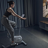 边玩游戏边健身,数控自动阻力:小米 AI功能健身车