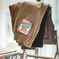 买手甄选:295g11坑、高级复古!美式 复古垂坠感 男士灯芯绒长裤