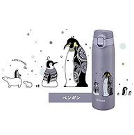Kameichido联名款,500ml Tiger虎牌 卡通企鹅时尚保温杯 MCT-A050H