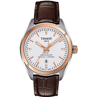 Tissot 天梭 PR100系列 T101.251.26.036.00 女士镶钻玫瑰金时尚腕表