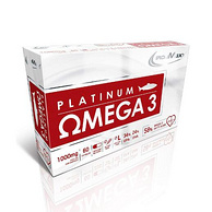 德国原装进口 IronMaxx 铂金版 Omega-3深海鱼油软胶囊 1000mgx60粒