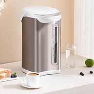 多段控温,智能恒温:5L大容量 九阳 电热水瓶
