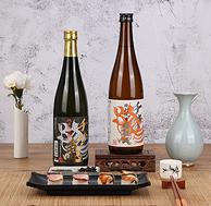 日本原装进口,拿奖到手软!720mlx2件  千代龟黑 纯米大吟酿