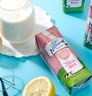 澳洲进口 SoNatural 脱脂纯牛奶 250mlx24盒