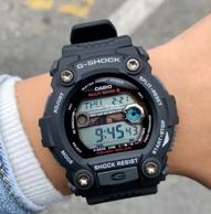 六局电波:Casio 卡西欧 G-Shock系列 GW-7900-1ER 经典6局太阳能电波表