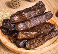 内蒙直发、黄牛后腿肉:漠上行 正宗内蒙古牛肉干 208g 44.9元包邮
