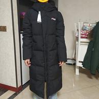 抵抗寒冷——团购的FILA斐乐羽绒服简单晒单 180金币晒单+30元晒单奖励