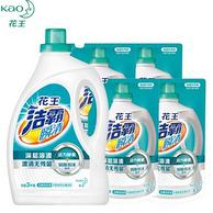 日本 花王 洁霸瞬清 无磷酵素洗衣液 18斤