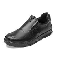 近3倍差价,头层牛皮:ECCO爱步 Byway路威系列 男士 一脚蹬休闲鞋