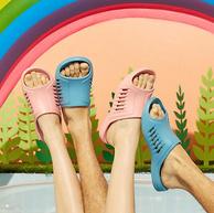 降10元,防滑专利:Kenroll科柔 2021新品 无感轻薄浴室拖鞋