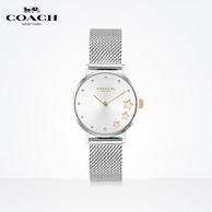 COACH 蔻驰 PERRY系列 星星表盘钢带石英手表