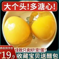 河南特产 佳致 变蛋 农家手工溏心松花蛋 20枚