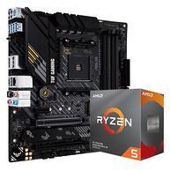 ASUS 华硕 TUF GAMING B450M-PRO S重炮手主板 + AMD Ryzen 5 3600 盒装CPU处理器 板U套装