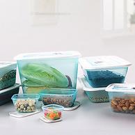 德国百年品牌,原装进口,可微波加热:0.5Lx5个 KEEEPER 冰箱收纳盒保鲜盒