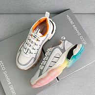 买手甄选团、彩虹鞋底、颜控首选:ECCO Danshi Design 21年爆款彩虹鞋