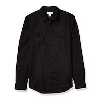 亚麻混纺,亲肤挺括:Calvin Klein 男士 亚麻衬衫