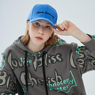 门店同款 三福 2021春夏新款 刺绣字母棒球帽