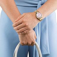 Citizen 西铁城 EM0503-75X 女士玫瑰钢带光动能腕表