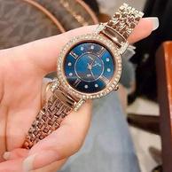 Anne Klein 安妮·克莱因 AK/2928NVRG 施华洛世奇水晶玫瑰金手镯手表