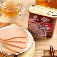 中华老字号,中粮代工企业:340gx4罐 上海梅林 火锅午餐肉罐头
