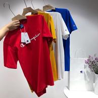 3D刺绣大logo、多色可选:Champion冠军 2021爆款短袖T恤