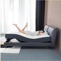 20点开始、四电机高配+5种模式: 8H DT3 Milan智能电动床pro 1.5m+MZ1零度床垫套装
