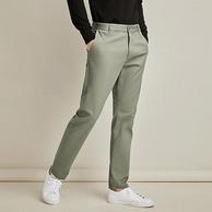 新疆棉、碳素磨毛工艺,网易严选 男士经典纯棉休闲直筒裤