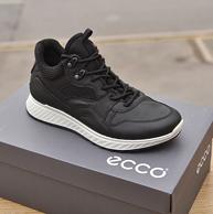 ECCO 爱步 ST.1 适动系列 男士牦牛皮运动跑步鞋