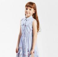 Levi's 李维斯 女童梭织无袖连衣裙