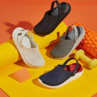 超舒适可随意弯折!Crocs卡骆驰 高端产品线 LiteRide男女休闲防滑平底沙滩鞋 149元包邮(原价569元)