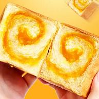 友臣 牛可可咸蛋黄吐司面包 420g