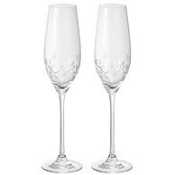 顶级骨瓷,210mlx2只 Narumi鸣海 星之花系列 红酒高脚玻璃对杯