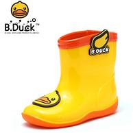 B.Duck /小黄鸭 儿童防水雨靴