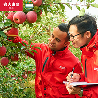 果径约75-79mm、15个:NONGFU SPRING 农夫山泉 新疆阿克苏苹果