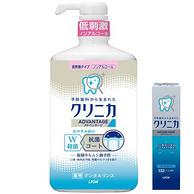 Lion 狮王 Clinica 齿力佳 酵素洁净防护漱口水900ml+迷你酵素牙膏30g