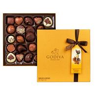 亚马逊销量第1!GODIVA 歌帝梵 金装巧克力礼盒 24枚 290g