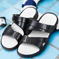 商场同款,EVA耐磨防滑大底,凉拖两用:回力 户外沙滩凉鞋