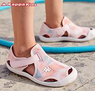 Kappa 卡帕 K0BP5LL16D 中大儿童透气舒适凉鞋
