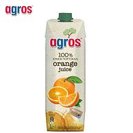 8口味任选 ,希腊原装进口 莱果仕 浓缩果汁饮料 1Lx2瓶