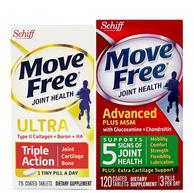 11日0点:Schiff 旭福 Move Free维骨力氨糖软骨素120粒+骨胶原软骨素75粒