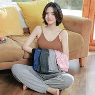 流线贴身无束缚,可外穿:莱丝依梦 男女 夏季薄款家居睡裤 4色