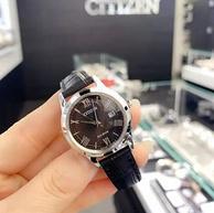 低于黑五特价!Citizen 西铁城 FE1081-08E 女士光动能石英皮革手表